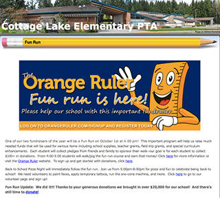 Cottage Lake PTA screenshot